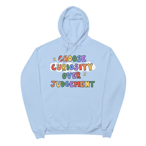 Choose Curiosity - Unisex Fleece Hoodie