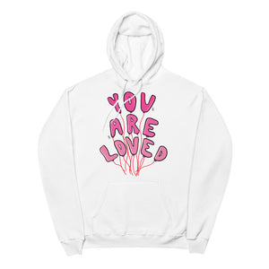 You Are Loved - Unisex Fleece Hoodie