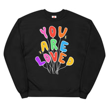 Load image into Gallery viewer, You Are Loved (Neon Edition) - Unisex Fleece Sweatshirt