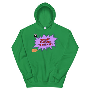 You Are Allowed To Mess Up! - Unisex Hoodie
