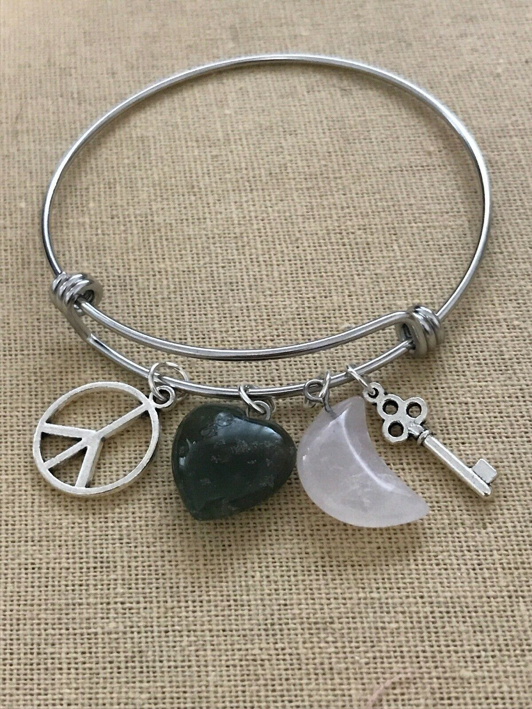 Handmade with Love - Bangle Bracelet