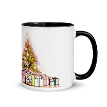 Load image into Gallery viewer, Christmas Tree Mug with Color Inside