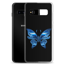 Load image into Gallery viewer, D4 - Iridescent Blue Butterfly Samsung Case