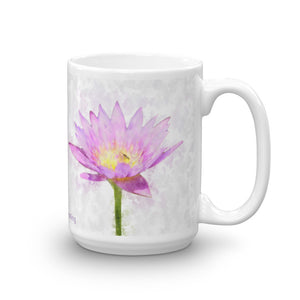 1 - Angel Guided Healing - Lavendar Lotus  Mug