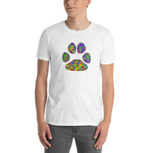 Load image into Gallery viewer, A - TIE-DYE Paw Short-Sleeve Unisex T-Shirt