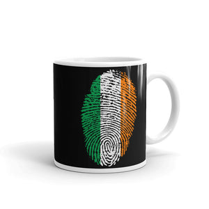 F4 - Irish Flag Fingerprint Mug