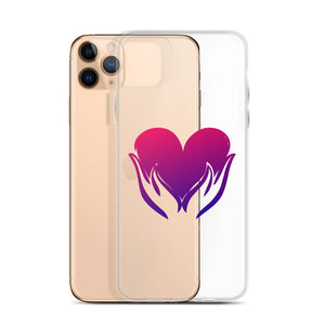 B - Healing Hands on Heart iPhone Case