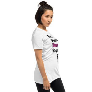 D6 - Eat Sleep Dance Repeat Short-Sleeve Unisex T-Shirt