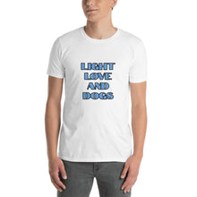 Load image into Gallery viewer, A - Light Love and Dogs Short-Sleeve Unisex T-Shirt