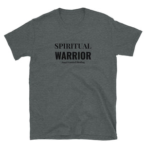 Angel Guided Healing - Spiritual Warrior- Short-Sleeve Unisex T-Shirt