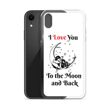 Load image into Gallery viewer, D8 - I Love You to the Moon iPhone Case