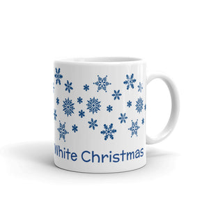 H - Dreaming of a White Christmas Holiday Mug