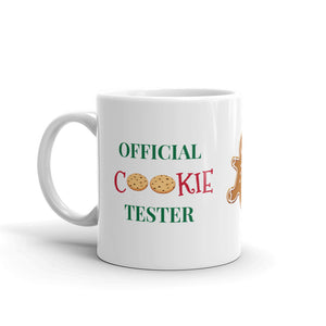 H - Official Cookie Tester Mug