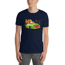 Load image into Gallery viewer, H - Here comes Santa Paws Short-Sleeve Unisex T-Shirt