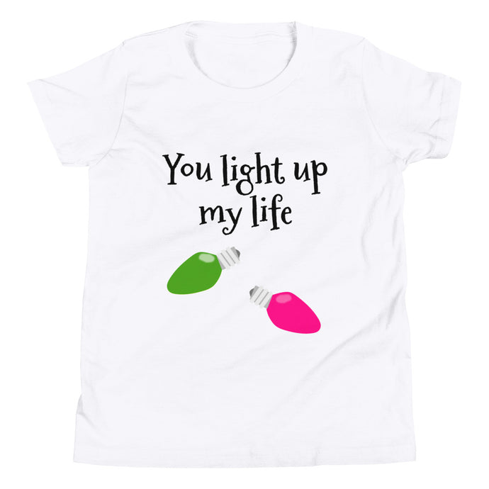 Y - You Light Up my Life Cute Youth Short Sleeve T-Shirt