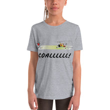 Load image into Gallery viewer, Y3 - GOALLLL Soccer Youth Short Sleeve T-Shirt