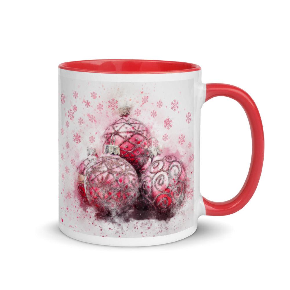 Ornaments Mug with Color Inside