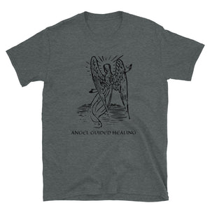Angel Guided Healing - Arch Angel Short-Sleeve Unisex T-Shirt