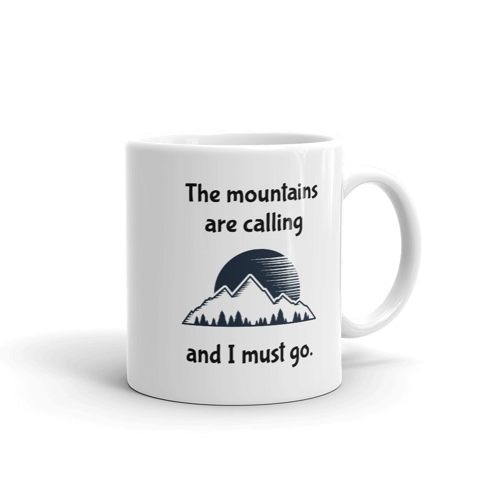 D5 - The mountains are calling Mug