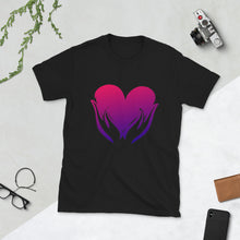 Load image into Gallery viewer, B - Healing Hands on Heart Short-Sleeve Unisex T-Shirt