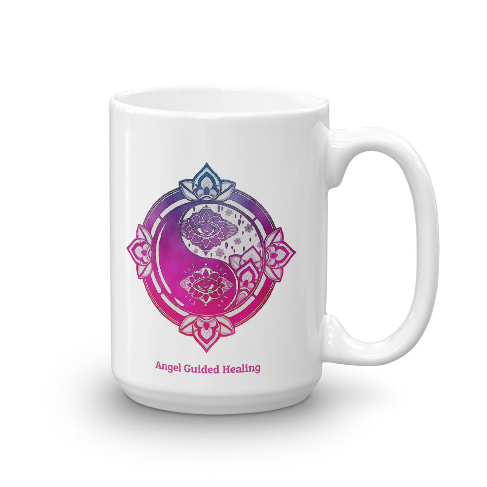 1- Angel Guided Healing - Yin and Yang Third Eye Mug