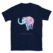 Load image into Gallery viewer, Angel Guided Healing - Henna Elephant Short-Sleeve Unisex T-Shirt