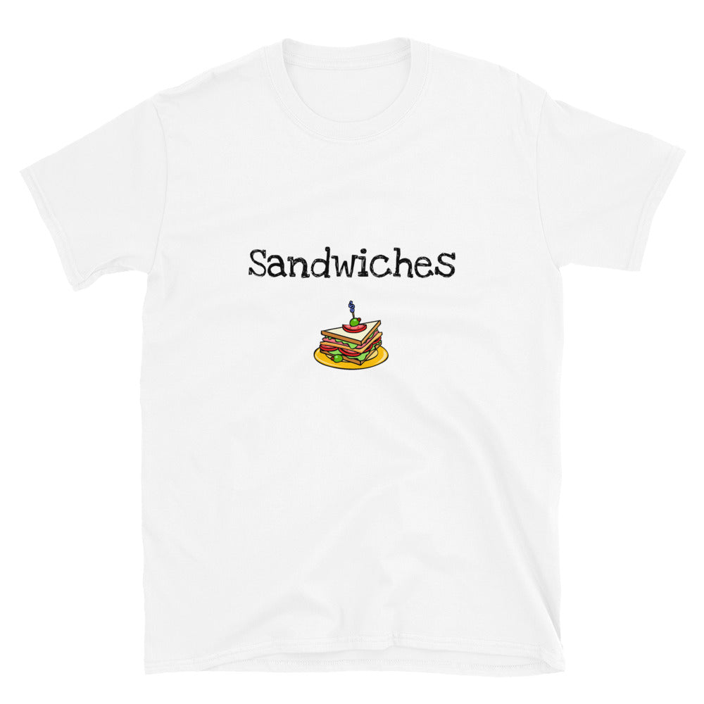 MA3 - We finish each other's sandwiches 2 Funny Short-Sleeve Unisex T-Shirt