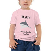 Load image into Gallery viewer, Y - Baby Shark Toddler Short Sleeve Tee