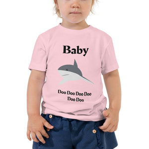 Y - Baby Shark Toddler Short Sleeve Tee