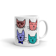 Load image into Gallery viewer, A- I just want to Drink Coffee & Rescue Cats Mug