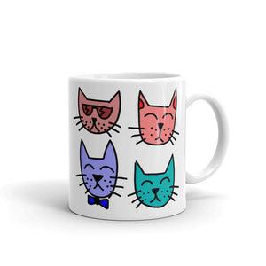 A- I just want to Drink Coffee & Rescue Cats Mug