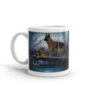 C1 - Shepard Dog with Puppy Mug