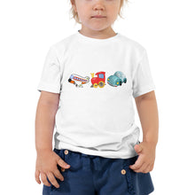 Load image into Gallery viewer, X3 - Planes Trains Automobiles Cute Toddler Short Sleeve Tee
