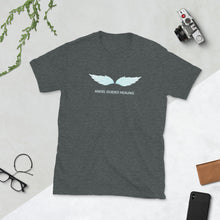 Load image into Gallery viewer, Angel Guided Healing -  Teal Wings Short-Sleeve Unisex T-Shirt