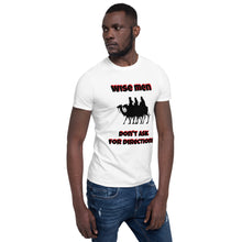 Load image into Gallery viewer, H - Wise Men Funny Holiday Short-Sleeve Unisex T-Shirt