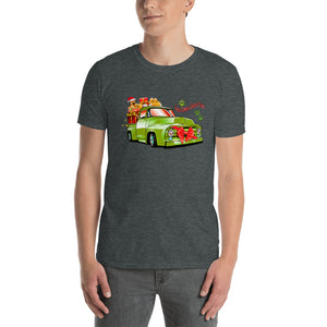 H - Here comes Santa Paws Short-Sleeve Unisex T-Shirt