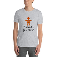 Load image into Gallery viewer, H - Funny Christmas Gingerbread Short-Sleeve Unisex T-Shirt