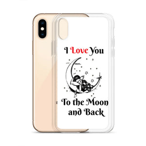 D8 - I Love You to the Moon iPhone Case