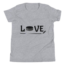 Load image into Gallery viewer, Y7 - Hockey Love Youth Short Sleeve T-Shirt