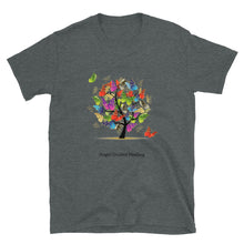 Load image into Gallery viewer, Angel Guided Healing - Tree of Life Butterflies Short-Sleeve Unisex T-Shirt