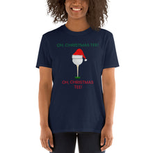 Load image into Gallery viewer, H - Oh, Christmas Tee Golf Lover Short-Sleeve Unisex T-Shirt