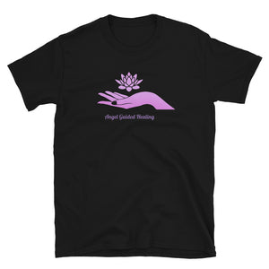 Angel Guided Healing -  Lotus Hand Short-Sleeve Unisex T-Shirt