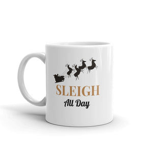 H- Sleigh All Day Mug