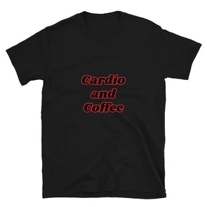 C - Cardio and Coffee Short-Sleeve Unisex T-Shirt