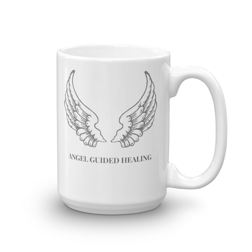1- Angel Guided Healing - Earth Angel Wings Mug