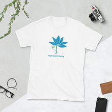 Load image into Gallery viewer, Angel Guided Healing -  Stemmed Lotus Short-Sleeve Unisex T-Shirt