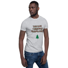 Load image into Gallery viewer, H - This is my Xmas Pajama Shirt Funny Short-Sleeve Unisex T-Shirt