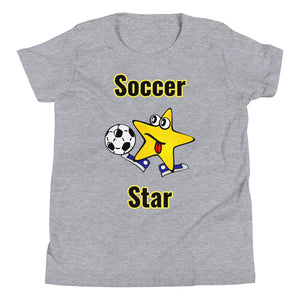 Y3 - Funny Soccer Star Youth Short Sleeve T-Shirt