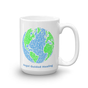 1 - Angel Guided Healing - Peace on Earth Mug