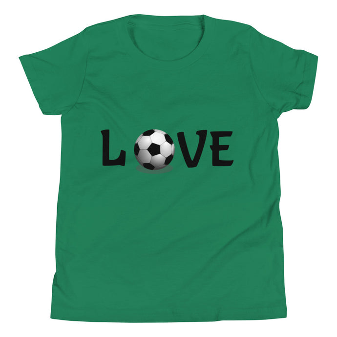 Y3 - Soccer Love Youth Short Sleeve T-Shirt